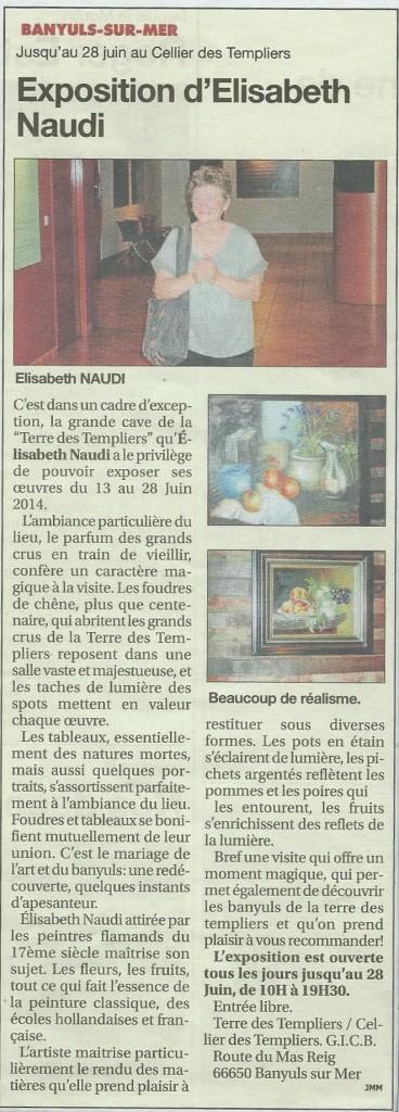 article Indépendant Août 2013